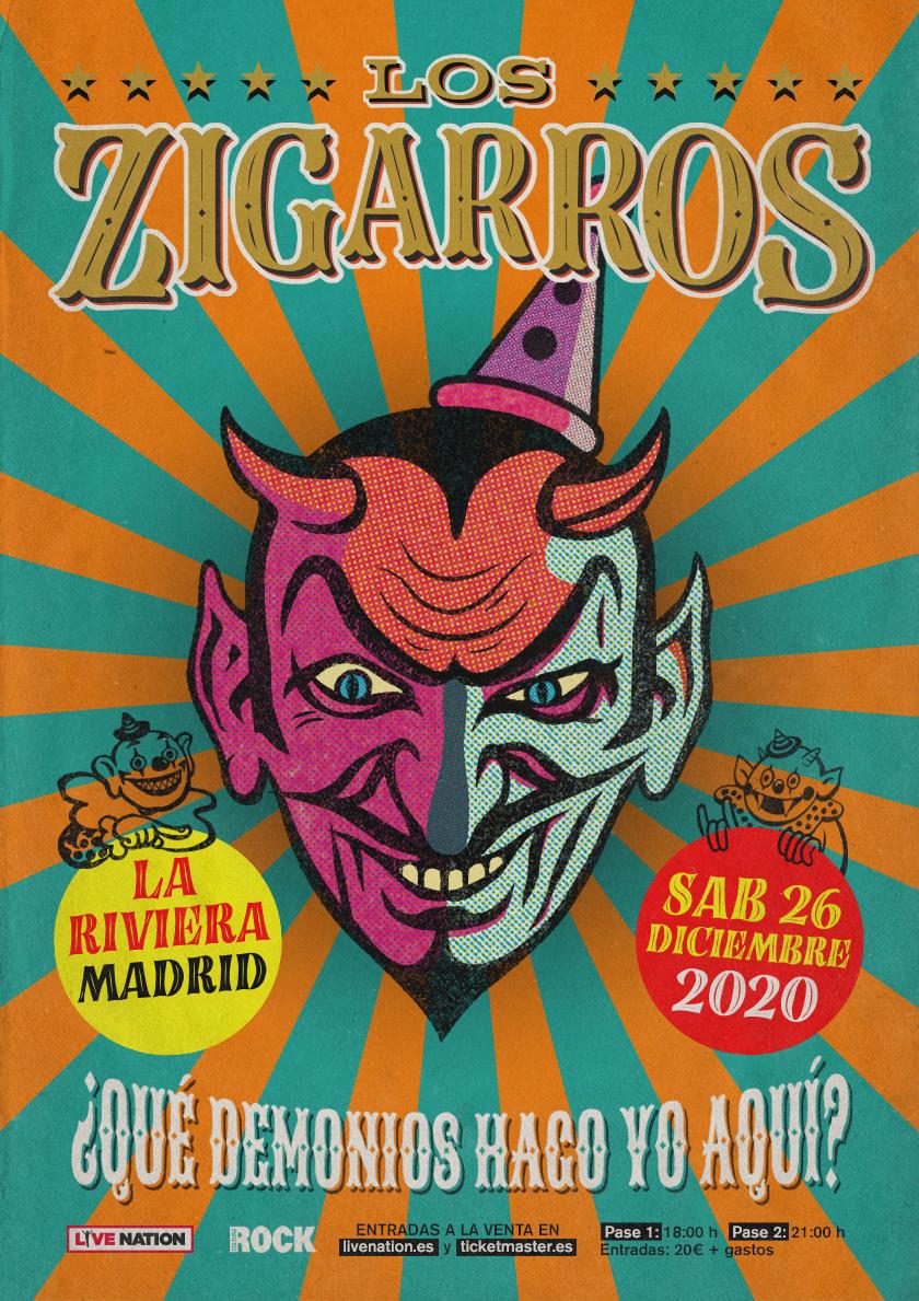 Agenda de giras, conciertos y festivales - Página 6 Loszigarros