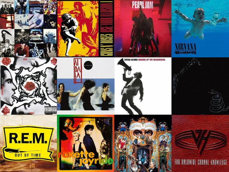 discos de 1991