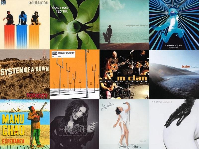 discos 2001