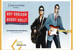 hologramas roy orbison buddy holly