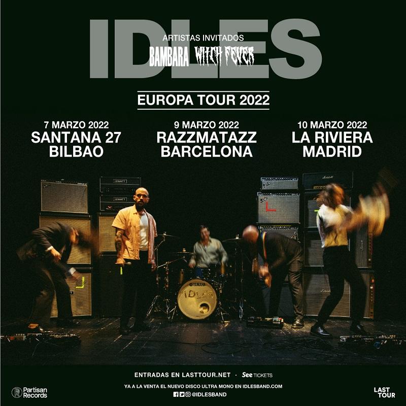 Agenda de giras, conciertos y festivales - Página 7 Idles
