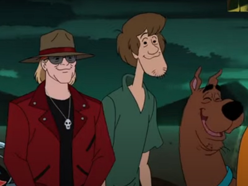 axl rose scooby-doo
