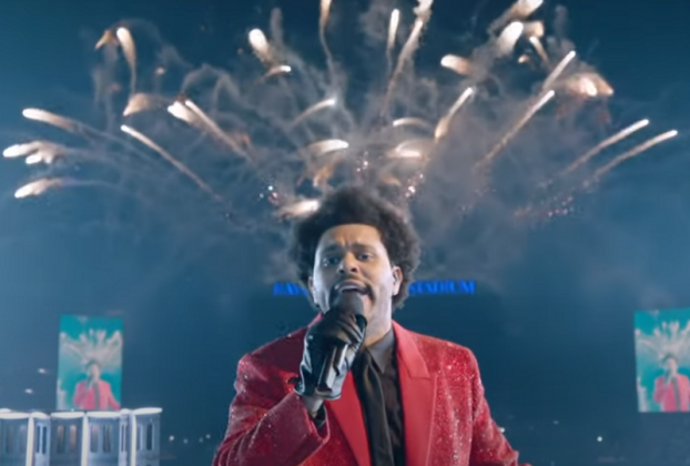 the weeknd super bowl