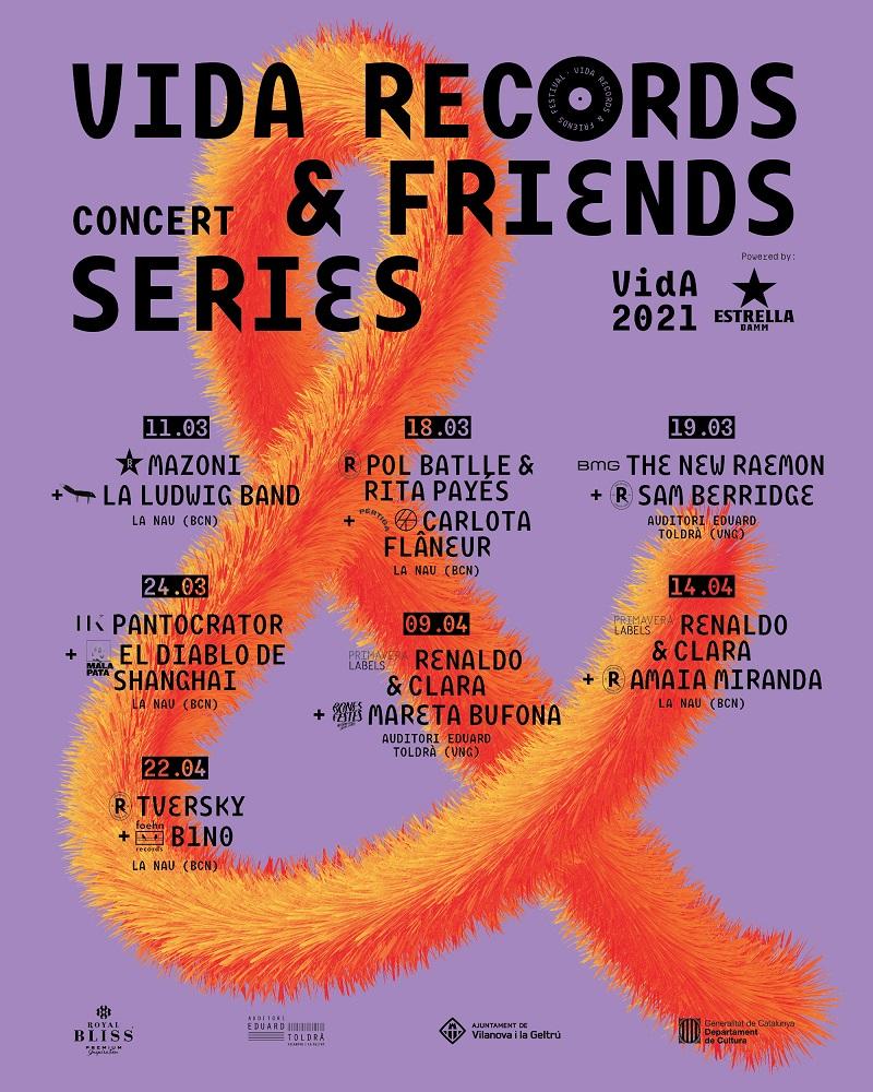 vida records & friends