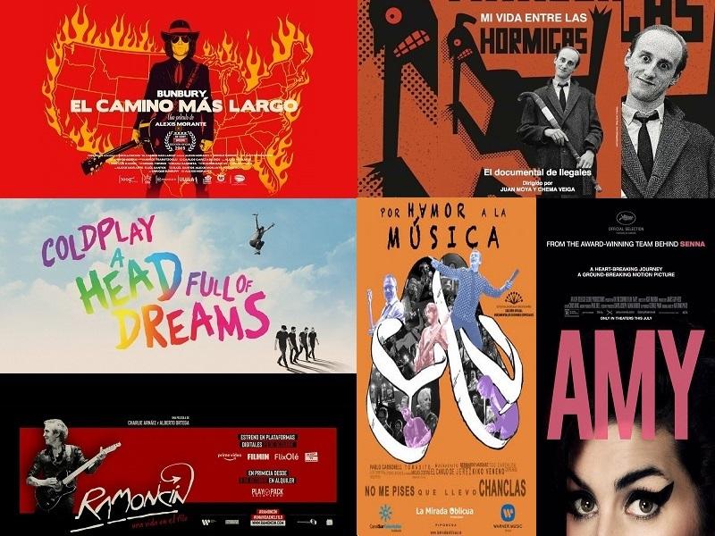 documentales musicales amazon