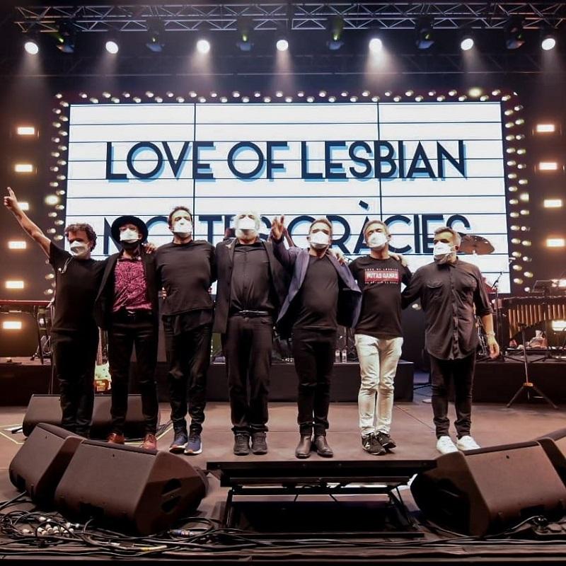 love of lesbian barcelona