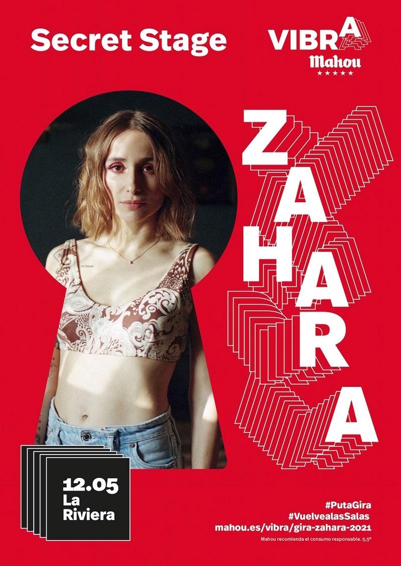 zahara vibra mahou secret stage