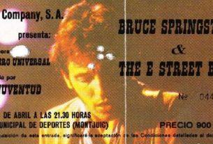 bruce springsteen barcelona 1981