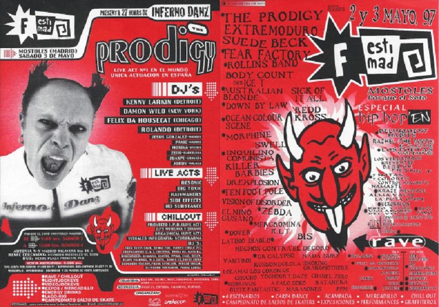 extremoduro festimad 1997