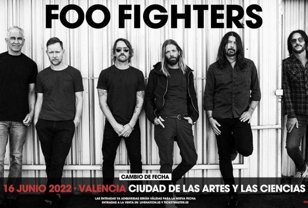 foo fighters valencia