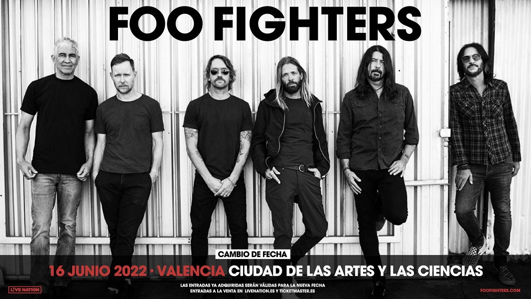foo fighters valencia