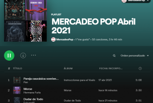 playlists abril 2021