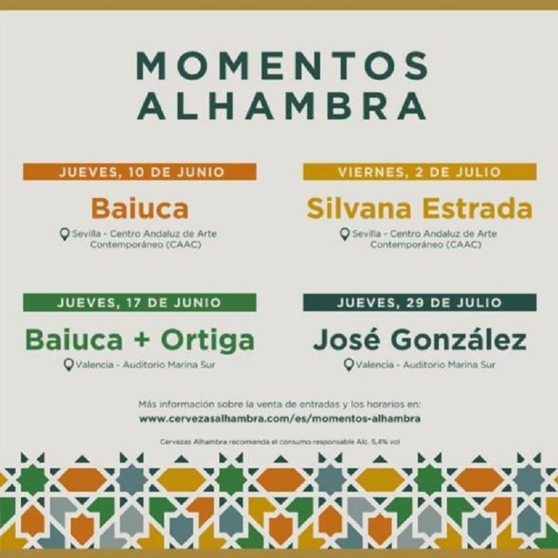 momentos alhambra sevilla valencia
