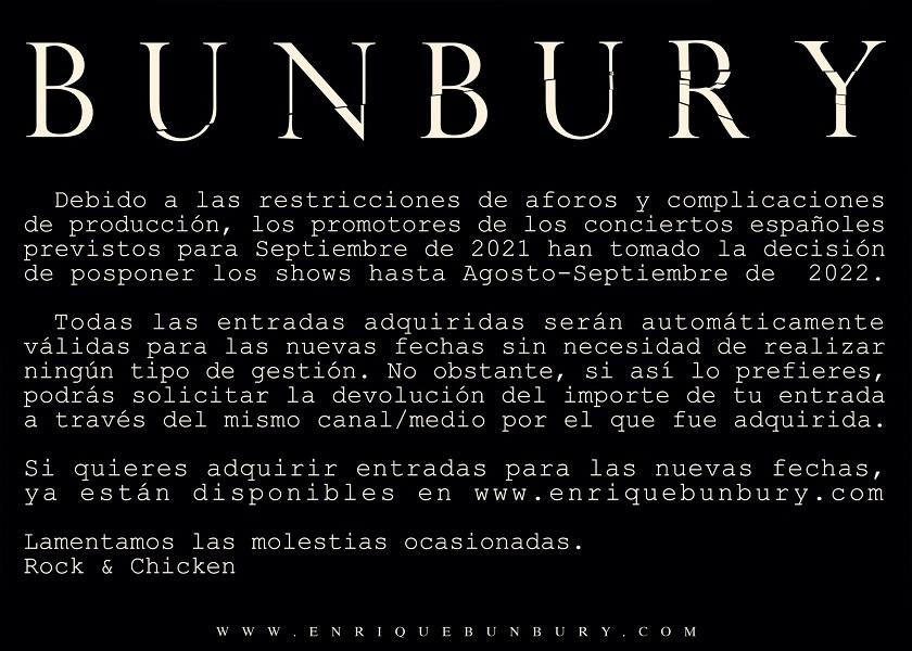 bunbury 2022