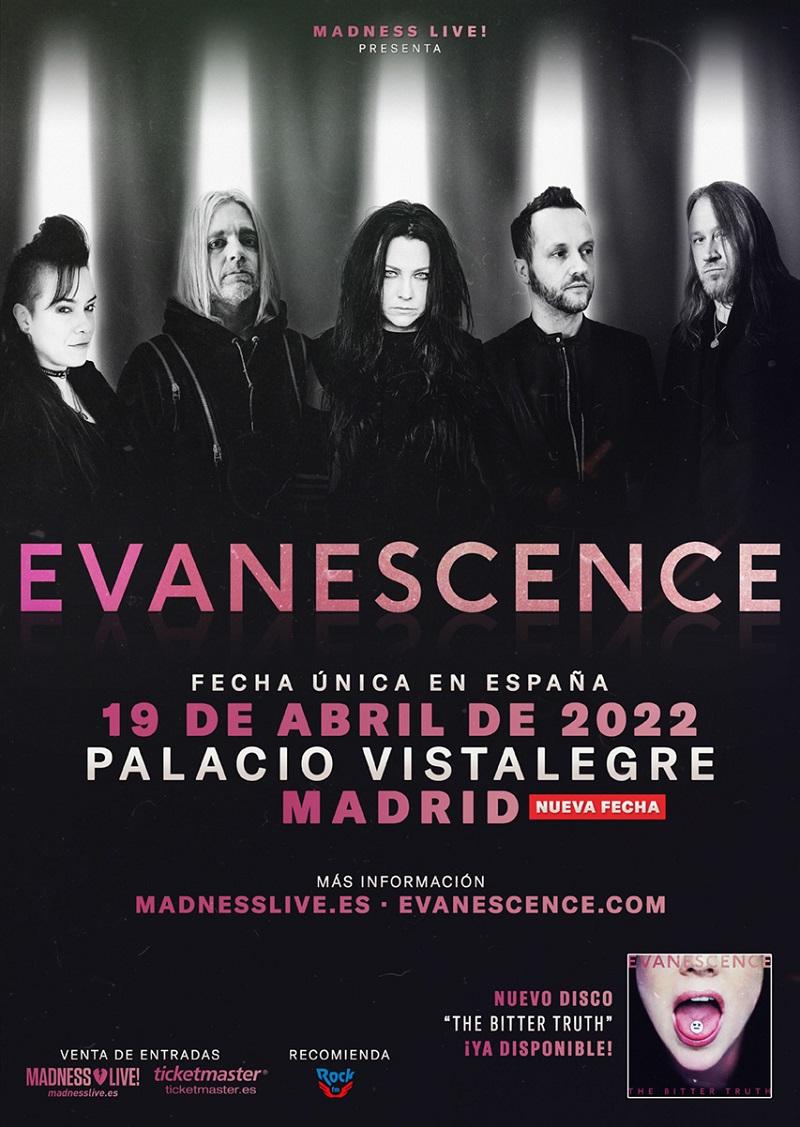 evanescence madrid 2022