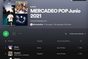 playlist junio 2021