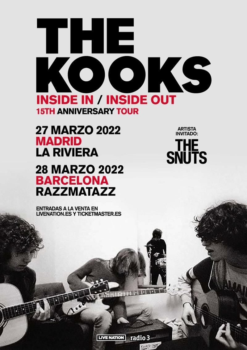 conciertos de the kooks en madrid y barcelona