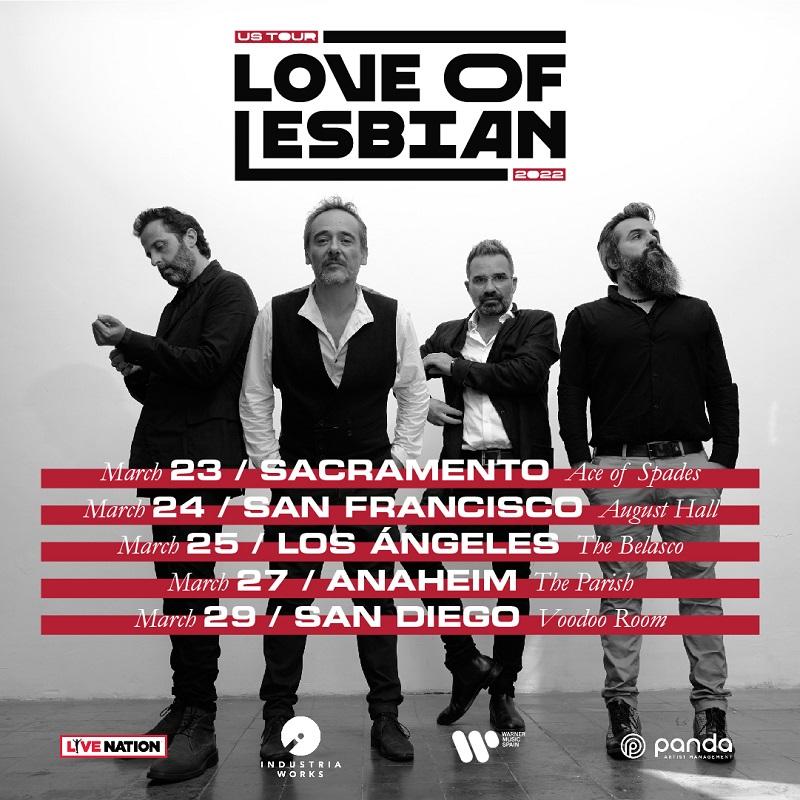 love of lesbian estados unidos