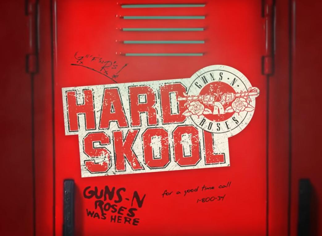 guns n roses hard skool