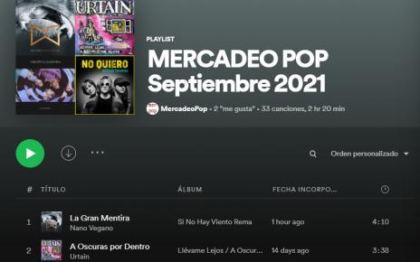spotify septiembre