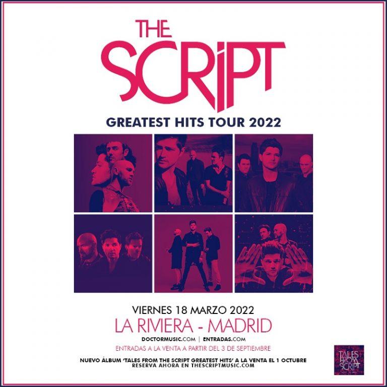 Agenda de giras, conciertos y festivales - Página 10 Thescript-768x768