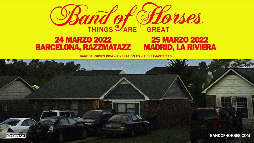 band of horses conciertos