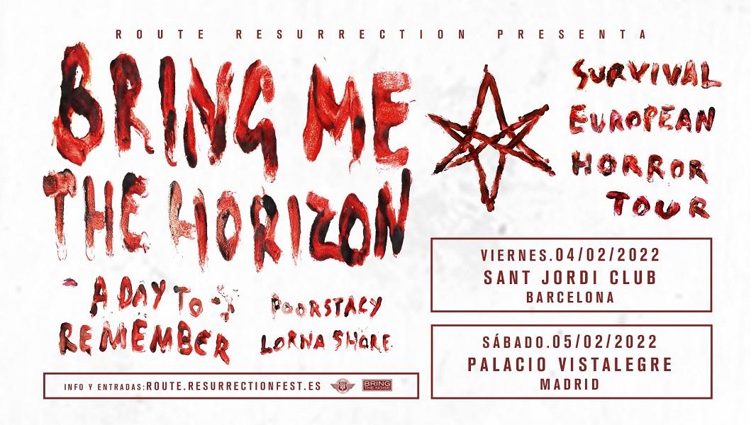 bring me the horizon conciertos españa 2022