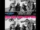 conciertos de red hot chili peppers en sevilla y barcelona en 2022